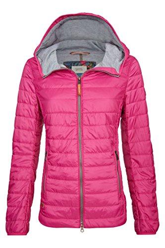 Camel Active Womenswear Damen Jacke Leichtstepp Blouson, Rosa (Pink 85), 42