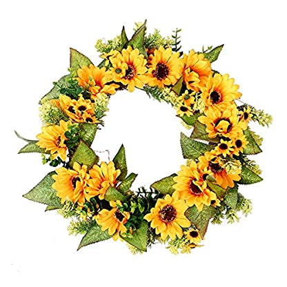 iBste-Kranz-der-knstlichen-Blume-Innen-oder-Auentrdekorationsfamilien-Hochzeitstr-Weihnachten-des-knstlichen-Bltenkranzes