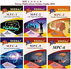 IGNOU Help Books Guide Combo of MA Psychology (MAPC) MPC1 | MPC2 | MPC3 | MPC4| MPC5 | MPC6 in English Medium (First year guide books of Neeraj Publications)