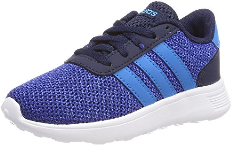 Adidas Lite Racer K, Zapatillas de Deporte Unisex Adulto, Azul (Maruni/Azusol/Reauni 000), 38 2/3 EU