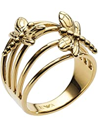 a175a5ff1b75 Emporio Armani Women Stainless Steel Piercing Ring - EGS2556710-6.5