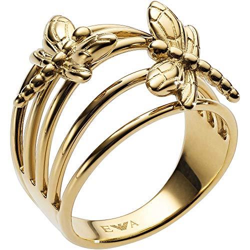 Emporio Armani Piercing ad Anello Donna Acciaio_Inossidabile - EGS2556710-6.5