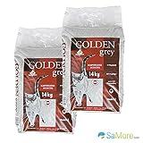 Golden grigio canadese lettiera–Baby polvere profumata–380% assorbimento–2x 14kg