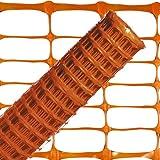 Wolfpack 1190070 Absperrzaun, 1m, orangefarben