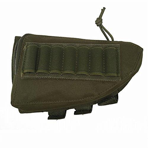 Gewehr-Vorrat-Pack Wangen-Pad-Stockstock-Munitions-Halter und Reißverschluss-Gebrauchs-Beutel (Shotgun Tactical Munition)