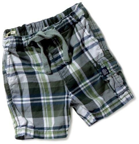TOM TAILOR Kids Baby - Jungen Babybekleidung/Hosen 60171490022/checked bermuda, Gr. 74, Grün (7241) (Bermuda Checked)