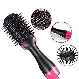 hsy Sèche-Cheveux Brosse, 2-en-1 One Step Sèche-Cheveux ION négatif Redressant...