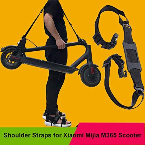 Correa De la Correa de Las Correas para Xiaomi Mijia M365 Scooter Skateboard Manija de la Mano Correas de Hombro de Scooter Deslizante para Eléctrica M365 Plegable jgashf