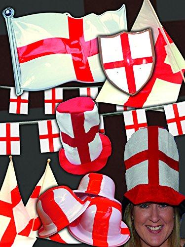 ST George 's/England Dekorationen aus nur € 33,60Für Preis-Pack, (Hut Deluxe Filz)