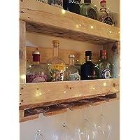Reclaimed timber Gin Rack