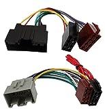 AERZETIX: Adaptateur Faisceau câble fiche ISO pour autoradio