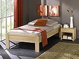 Unbekannt Seniorenbett MAINZ - dezentes Designerbett - Buche massiv, Größe:100x210cm
