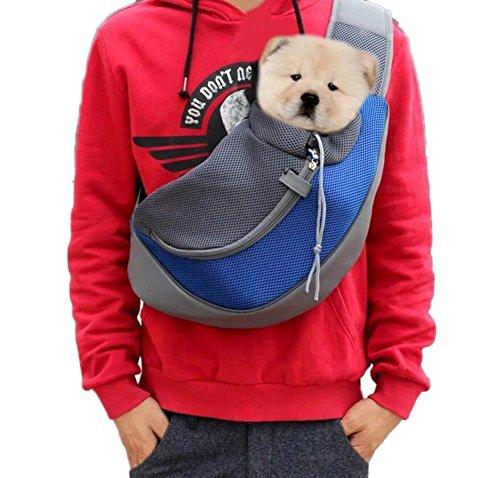 Ylen portatile cane gatto trasportare zaino viaggio vettore traspirante borsa a tracolla sacchetti per animale domestico