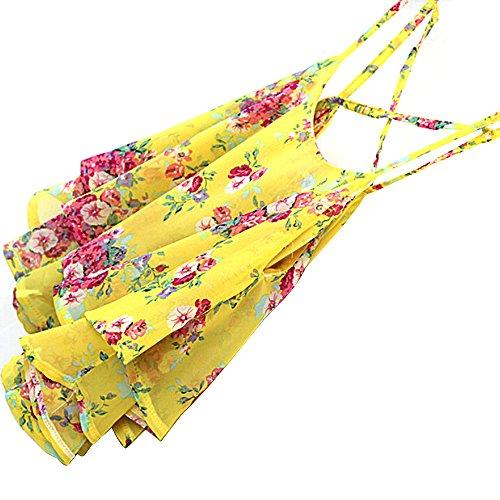 PRIAMS 7 - Canotta -  donna Yellow