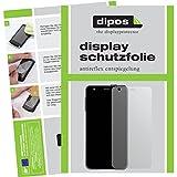 dipos I 6X Schutzfolie matt passend für Samsung Charm Fitness Tracker Folie Bildschirmschutzfolie