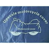 Housse moto interieure universelle bâche bleu 200 x 140 cm protéger votre moto dans garage, box