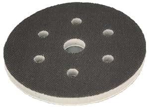 Interface mousse souple système velcro - pour plateau de ponçage 150mm avec 6 trous - Améliore la finition, parfaitement pour les formes même complexes - DFS