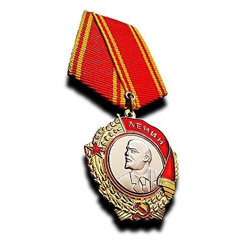 Lenin Orden Medaille die höchste Auszeichnung von der Sowjetunion verliehen