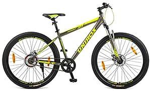 Unirox AMSTEREDM 27.5 Unisex Aluminum-Alloy Single Speed Mountain Bike (Grey)