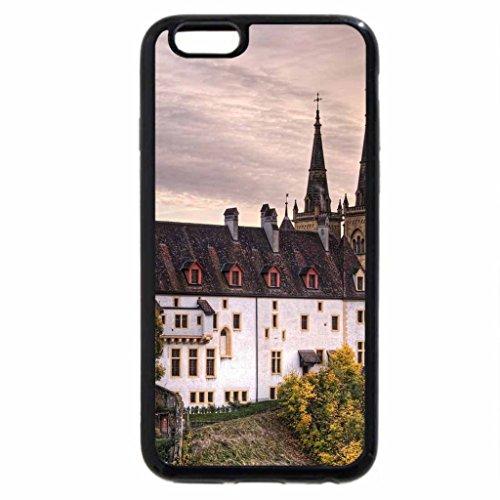 iPhone 6S / iPhone 6 Case (Black) neuchatel castle switzerland