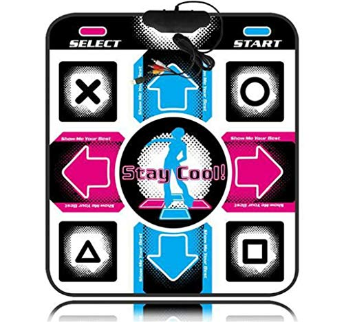 JHKJ Computer Ball Dance Pad USB/Running / Attrezzature Per Il Fitness,A