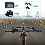 Macwheel-Cruiser-550-28-Bici-Elettrica-da-Trekking-Batteria-Rimovibile-agli-Ioni-di-Litio-da-36-V10-Ah-Sospensione-Anteriore-Freni-a-Doppio-Disco-Bicicletta-Elettrica-per-Adulto-Unisex