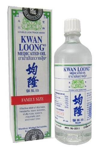 Kwan Loong Medicated Oil 57ML (Large Size!) - Öl-liniment