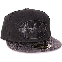 DC Comics Batman Estilo De Piel Logo Gorra Snapback