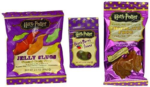 Harry-Potter-Jelly-Slugs-Banana-Pear-Cherry-Tangerine-Watermelon-Bertie-Botts-Beans-Chocolae-Frog-Pack