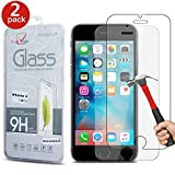 Best Iphone 6 Screen Protectors - [2 Pack] Apple iPhone 6 6S Screen Protector Review
