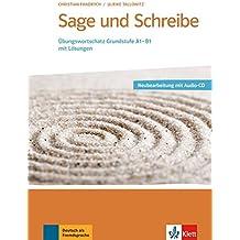 Sage Und Schreibe: Buch + Audio-CD