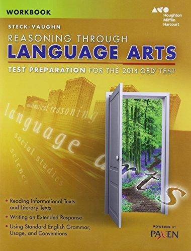 Steck-Vaughn GED: Test Preparation Student Workbook Reasoning Through Language Arts by STECK-VAUGHN (2013-10-22)