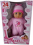 Bayer 28cm First Words Baby Doll mit 24 Funktionen