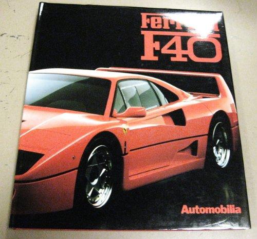 Ferrari F40 (New great cars series) par Piero Casucci