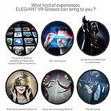 3D VR Headset, ELEGIANT Universal 3D VR Box - 3