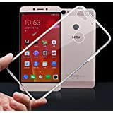 Prevoa ® 丨LeTV Le1S X500 Funda - Transparent Silicona Protictive Carcasa Funda Case para LeTV Le1S X500 5,5 Pulgadas Smartphone - Transparent