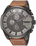 Diesel Herrenchronograph Mega Chief Black IP DZ4463