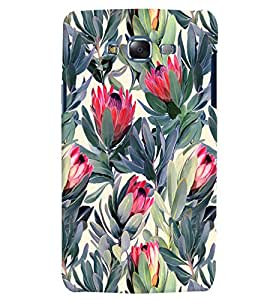 Citydreamz Abstract Floral Print Hard Polycarbonate Designer Back Case Cover For Samsung Galaxy J7