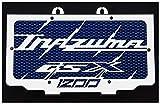 Kühlerverkleidung/Kühlerabdeckung 1200 GSX Inazuma + blaues Shutzgitter