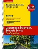 Falk Straßenatlas Deutschland, Österreich, Schweiz, Europa 2014/2015 1:300 000
