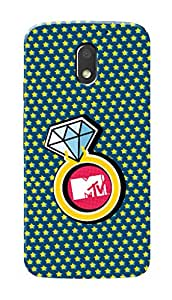 MTV Gone Case Mobile Cover for Motorola Moto E3 Power