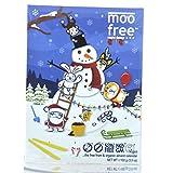 MooFree Adventskalender mit veganer Bio-Schokolade 100g
