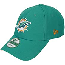 Gorra ajustable New Era 9forty de la liga NFL Seahawks, Raiders, Patriots, Panthers, Broncos, etc. Turquoise / Miami-Dolphins Talla única