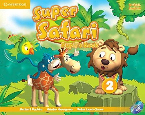 Super Safari Level 2 Pupil's Book with DVD-ROM (Super Minds) - 9781107476882