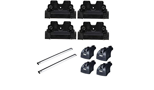 Thule 4027 Mounting Kit Thule 753 Fixed Fitting Kit Thule 961100 Wing Bar 961 Roof Crossbar Rapid System Auto