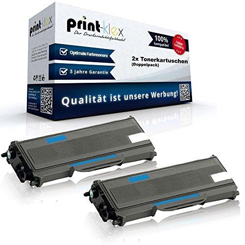 Preisvergleich Produktbild 2x Kompatible Tonerkartuschen für Brother HL L2320 D HL L2360 DW HL L2380 DW MFC L2740 DW MFC L2700 Series DCP L2500 Series TN 2360 - Doppelpack