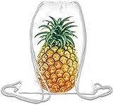 Pineapple Hipster TUMBLR Sacca con cordoncino