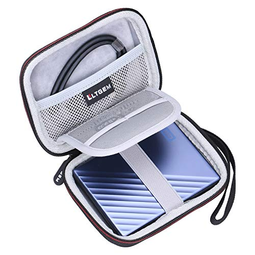 LTGEM Eva Hard Case für WD 1TB 2TB 4TB My Passport Ultra Portable Externe Festplatte - Ultra Portable External Hard Drive