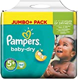 Pampers Baby Dry Size 5 + Nappies with Absorbing Channels 68 units
