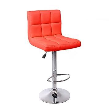 life carver cuban breakfast bar stool pu leather barstools kitchen stools chrome home desk chair red amazoncouk kitchen u0026 home - Amazon Bar Stools